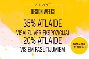 Zuiver dizaina nedēļa!